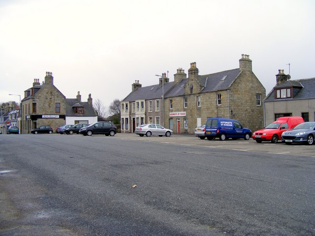 The Square at Aberchirder