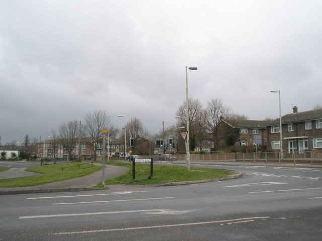 Junction of Martin and Bartons Road
