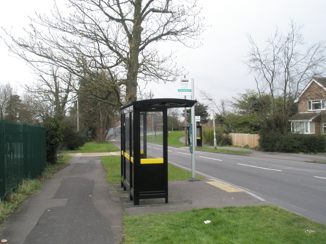 Bus stops in Martin Road