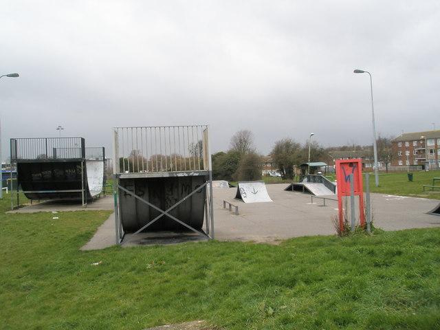 BMX Park in Bartons Road