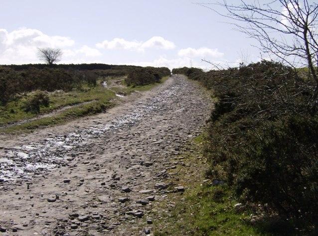 Rhymney Valley Ridgeway footpath