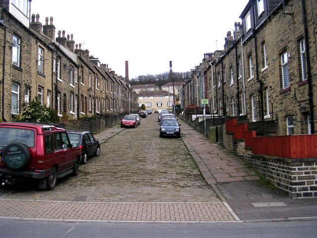 Cleveland Avenue - Oxford Lane, Siddal
