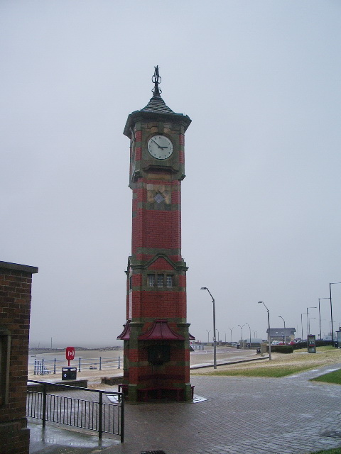 Clock Tower, Marine Road Central, Morecambe
