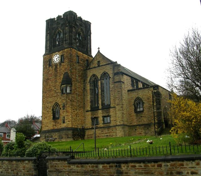 St Mark's Church - Whitegate Road, Siddal