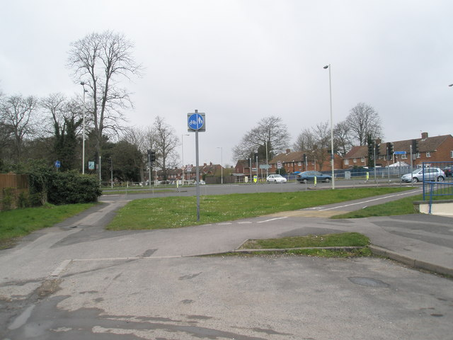 Looking from Bartons towards The Petersfield Road