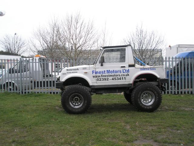 Super little truck in Martin Road
