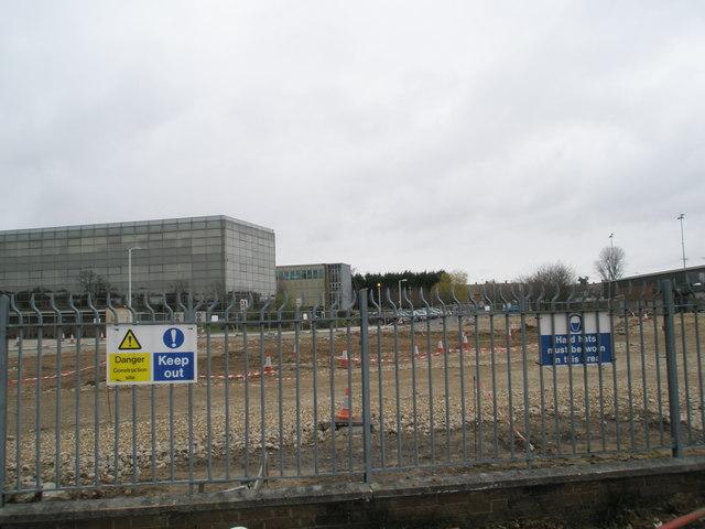 Building site in Martin Road