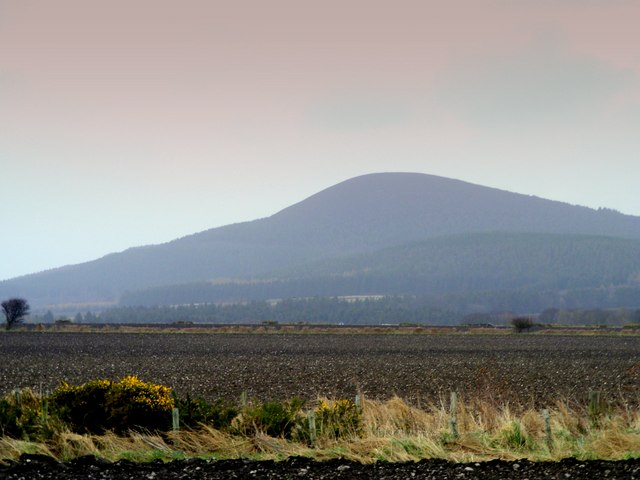 Looking towards the Hill of Maud