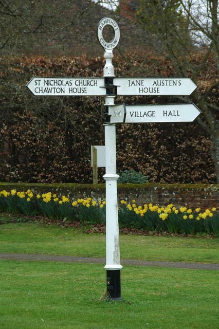The centre of Chawton?