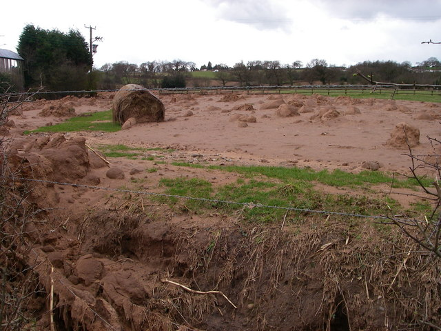 Landslide - in Cheshire?!