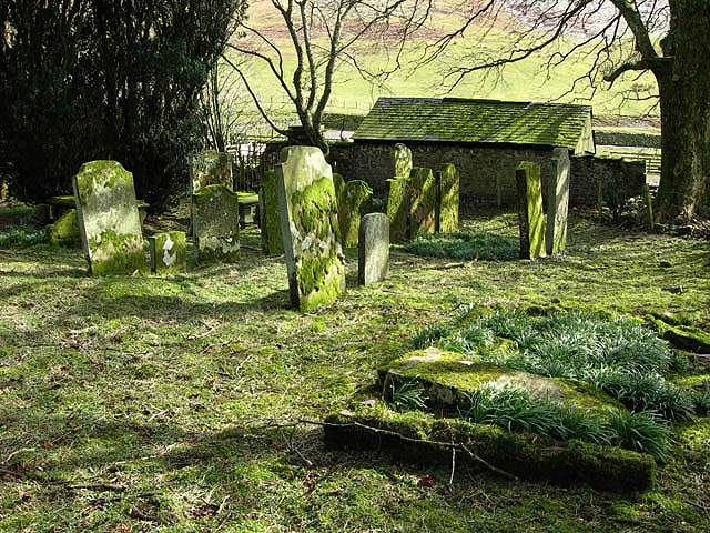The old graveyard at Unthank