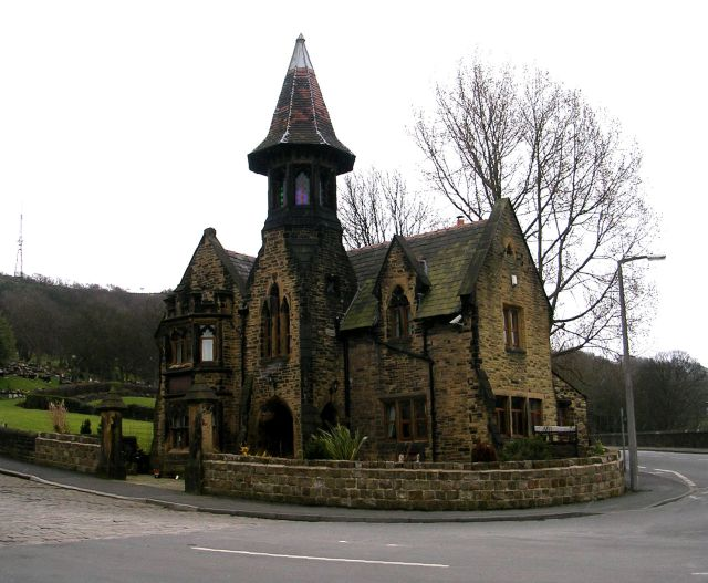 Stoney Royd Cemetery Lodge -  Siddal New Road