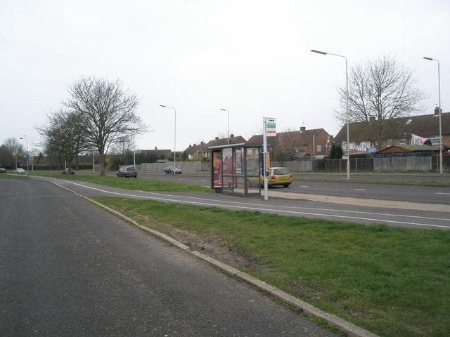 Stroudwood Road bus stop