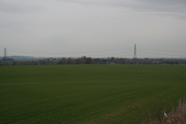 Farmland looking towards Westfield Farm
