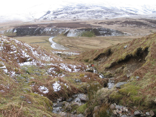 Mirk Cleuch towards Toddle Moss