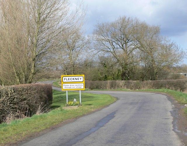 Arnesby Road near Fleckney