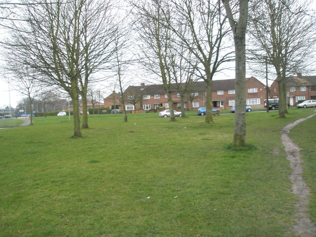 Green at junction of Bedhampton Way and the Petersfield Road
