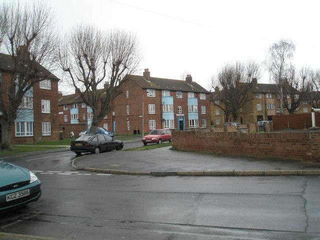 Edinburgh House at the junction of Blendworth Crescent and Soberton Road