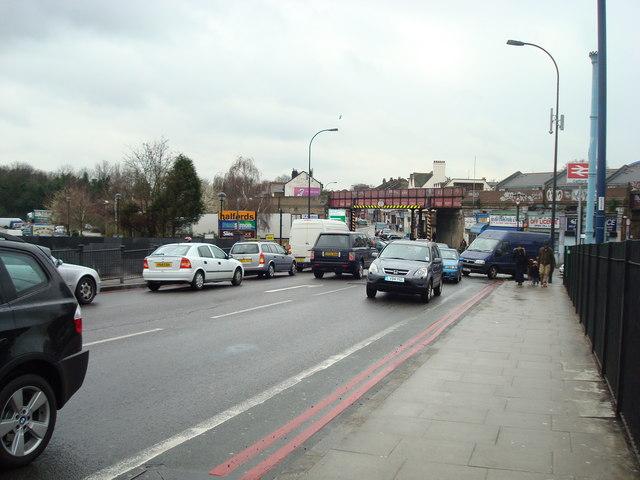 Catford Road (South Circular Road), London SE6