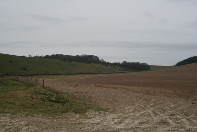 Farmland Towards the Downs