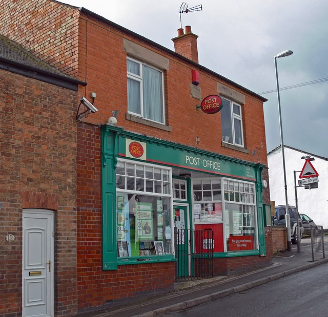 Fleckney post office mat fascione geograph britain and ireland - Great britain post office ...