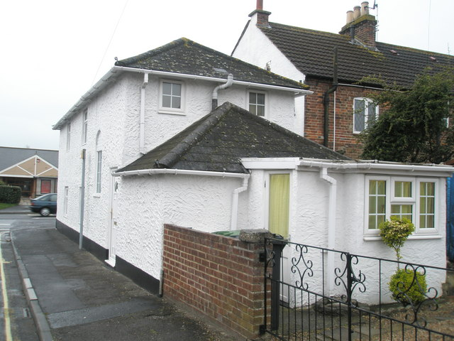 The house in North Street  where nobody came in or out