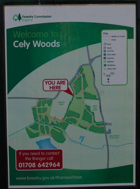 Cley Woods Sign