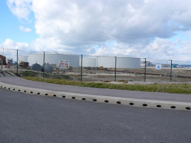 Mere Tank Farm, Chesil Beach