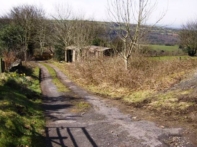 Entrance to Ty-cae-brith