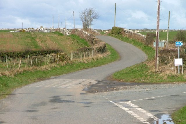 Road Junction Near Stairfield