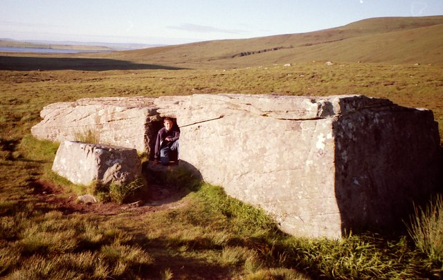 A Megalithic Mystery - The Dwarfie Stane