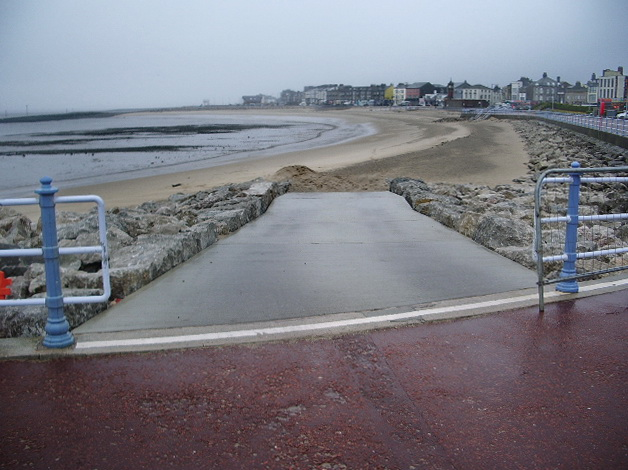 Slipway on to Shell Bed Flat, Morecambe