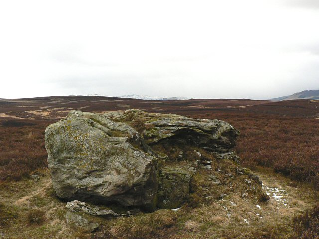 Boulder on Torchuaig Hill