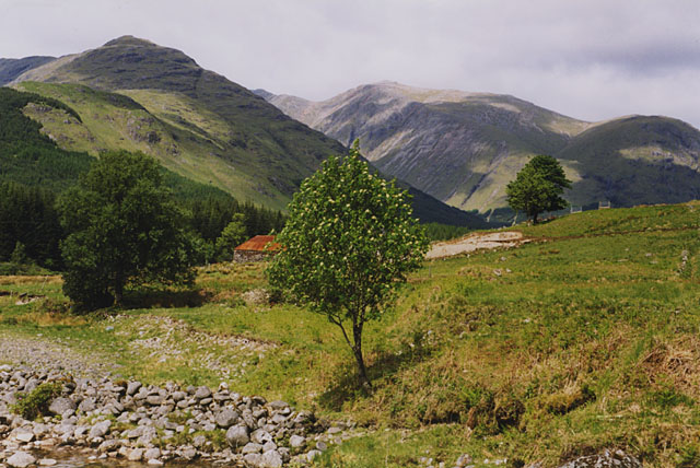 Glen Etive, near Glenceitlein farm