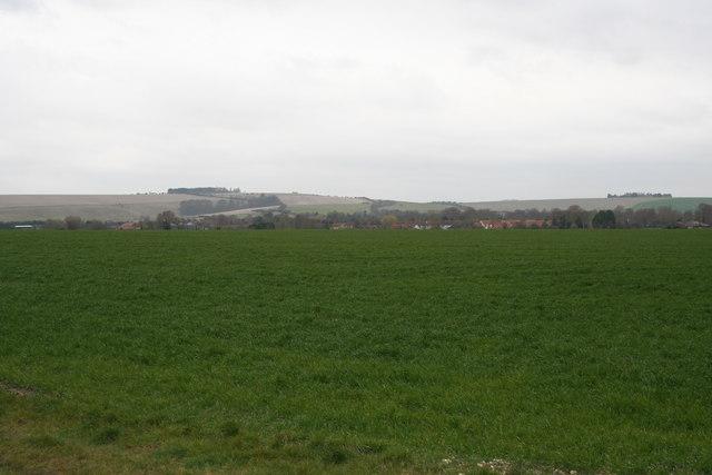 Farmland towards Blewbury