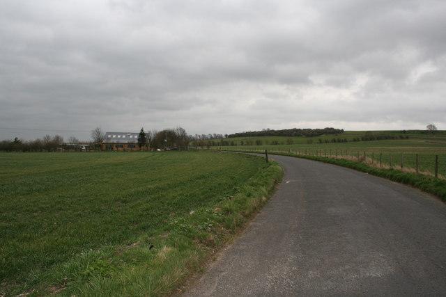 Road towards Aston Tirrold