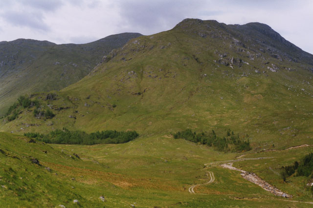 The foot of Coire Thollaidh