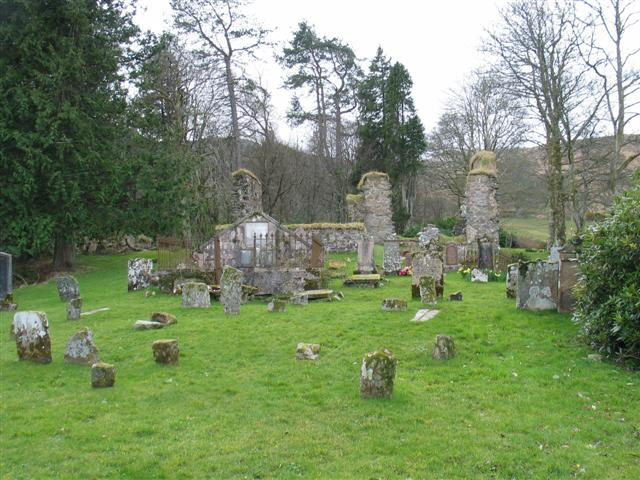 Saddell Abbey and graveyard (1)