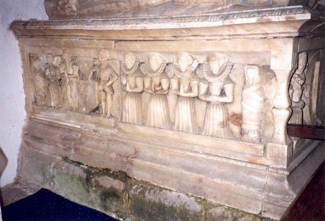 Tomb, St Andrew's Church, Stoke Dry