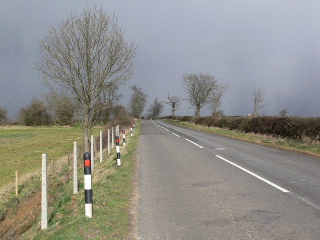 Saddington Road near Shearsby