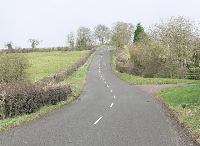 Saddington Road near Shearsby