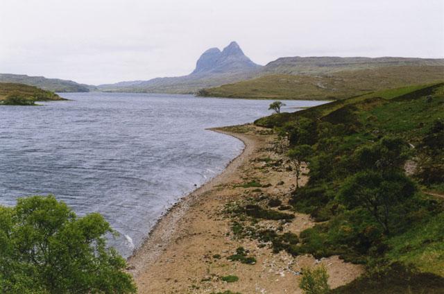 Cam Loch shoreline
