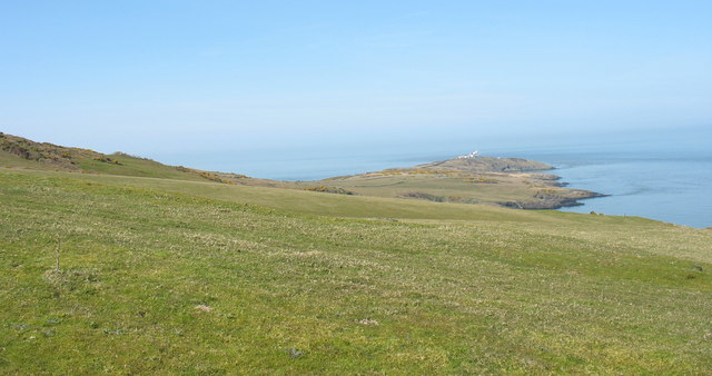 View north from the Trwyn Du ridge