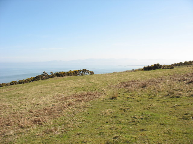 View south from the Trwyn Du ridge