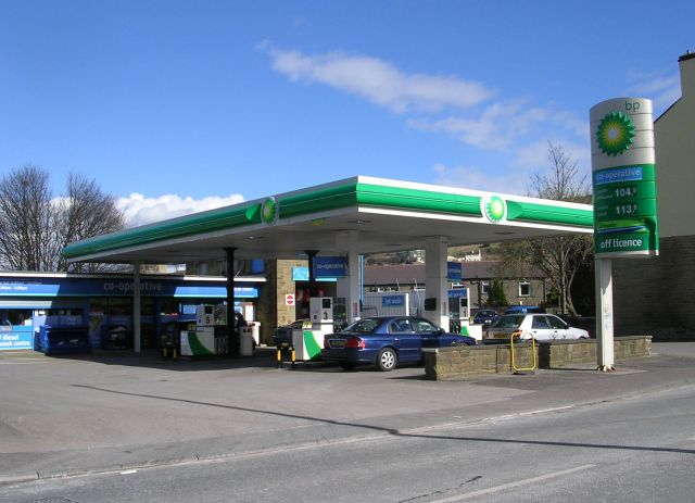 BP Filling Station - Huddersfield Road