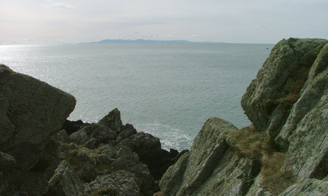 View From Isle Head to the Isle of Man