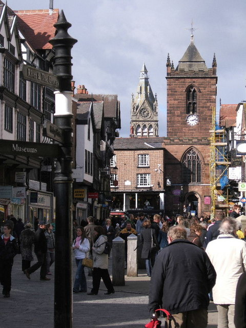 Twin Towers, Chester