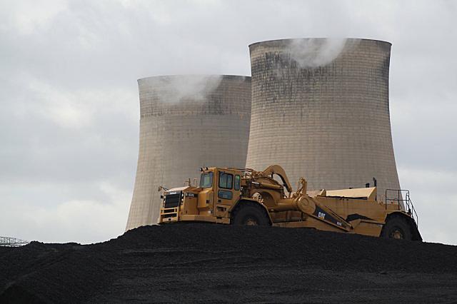 Coal levelling