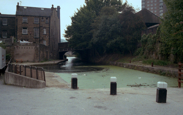 Winding hole at Sowerby Bridge