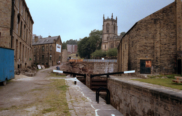 Lock No 2, Rochdale Canal, Sowerby Bridge
